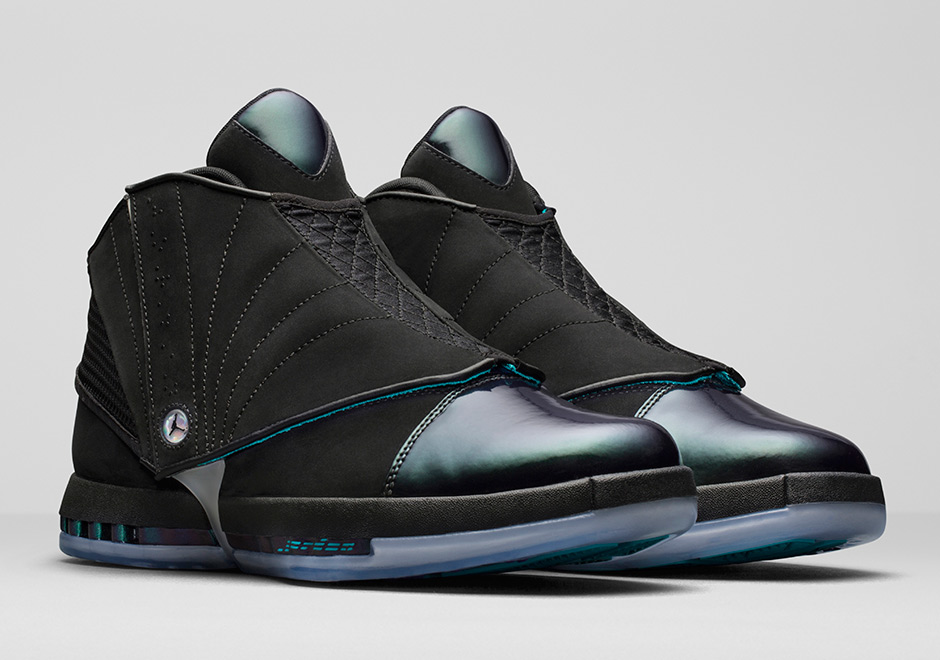469adc5bfe30 Jordan Brand will be releasing the Air Jordan 16 in a brand new colorway  this Holiday season paying homage to the Charlotte Hornets.