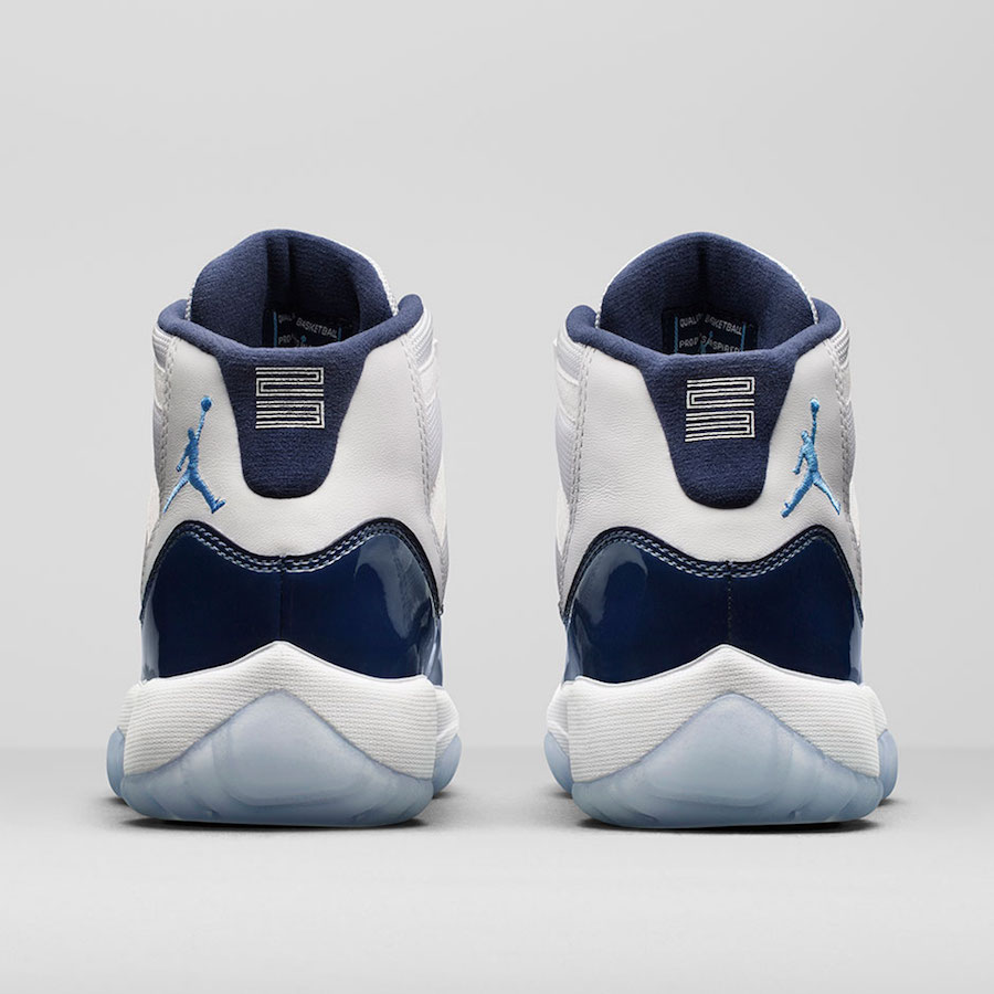 "buy popular 2f3e3 54f39 Air Jordan 11 ""Win Like 82"" Color WhiteUniversity Blue-Midnight Navy Style  Code ..."