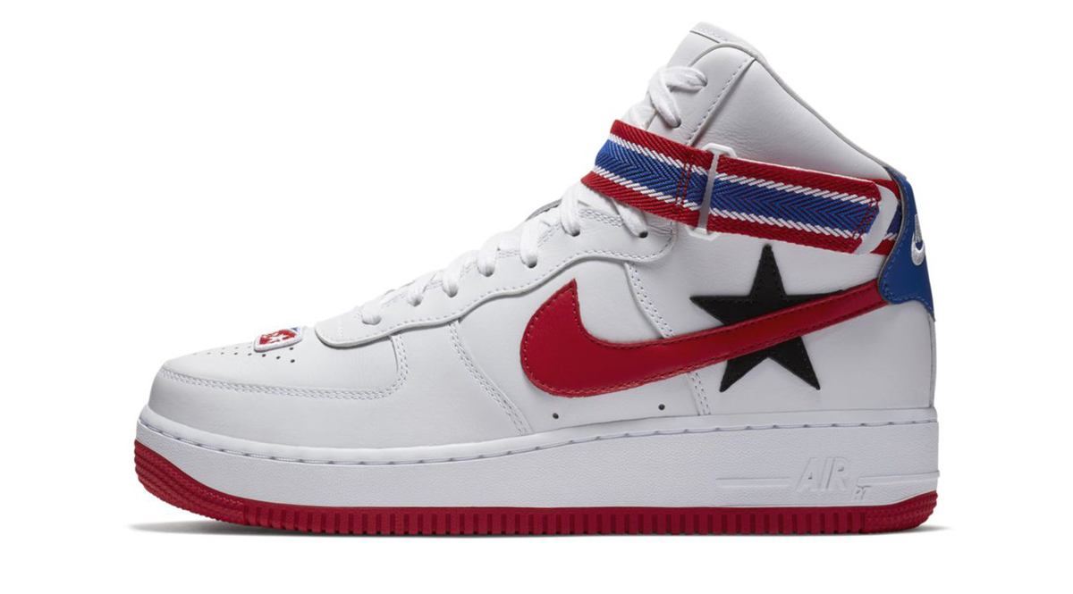 NikeLab and Riccardo Tisci are linking up to create two colorways of the Nike  Air Force 1 with influence of one of fashions most well renowned names.