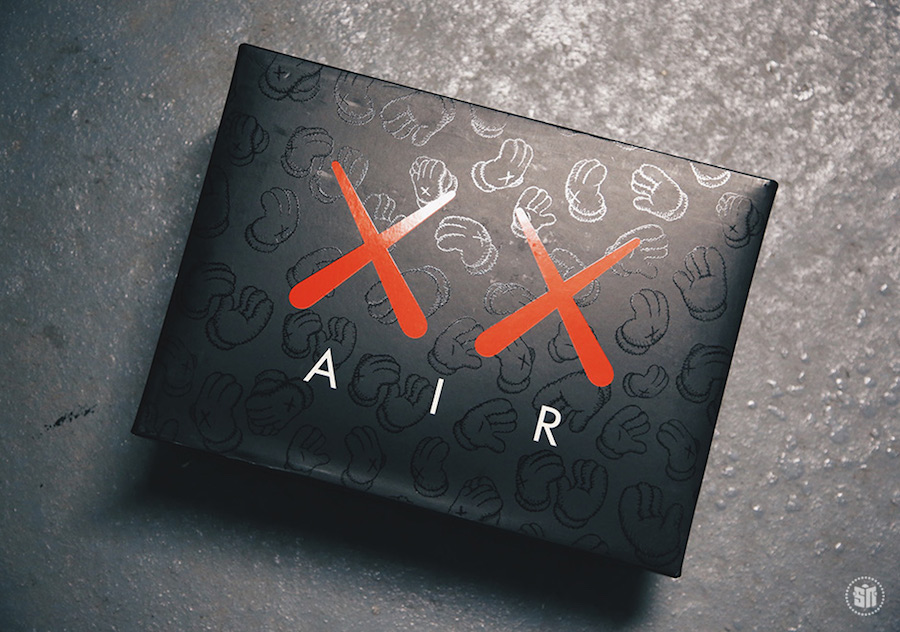 610be8edd4a5 Jordan Brand and KAWS will be collaborating once again on an Air Jordan 4  following the grey release a few months back. The Black pair will feature  the same ...
