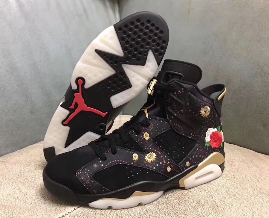 "48f30a8f5a59 Update  Here s a look at the upcoming Air Jordan 6 ""Chinese New Year"" set  to release in January."