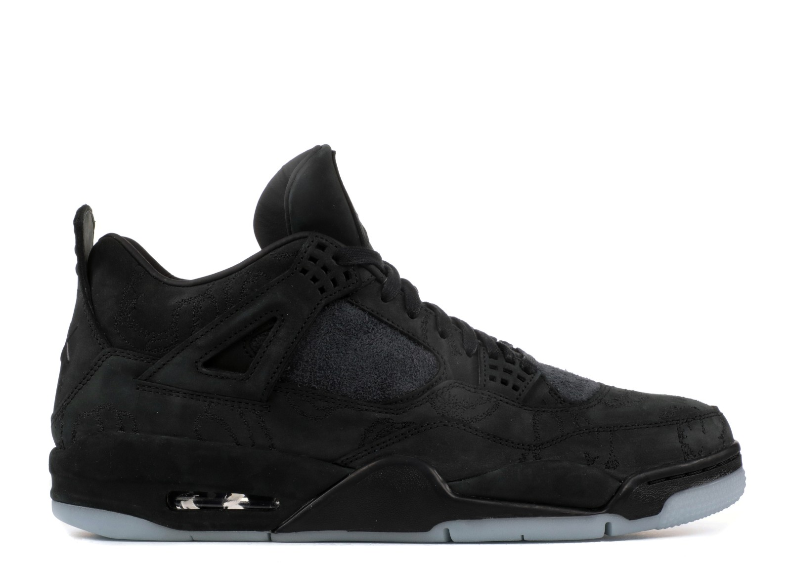 eea7e364b40 Jordan Brand and KAWS will be collaborating once again on an Air Jordan 4  following the grey release a few months back. The Black pair will feature  the same ...