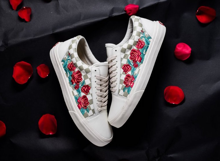 Vans Vault Quot Rose Embroidery Quot Pack