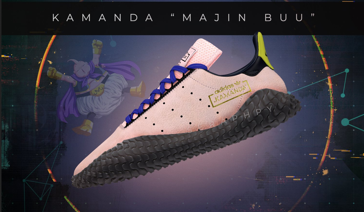 The Villainous Majin Buu will be getting his own adidas silhouette for the  upcoming Dragon Ball Z x adidas Originals collection next fall. 905a69469