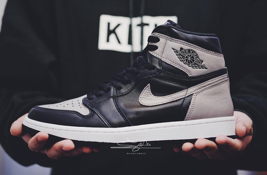 """outlet store 92023 2a742 Previously released back in 2013, the Air Jordan 1 Retro High OG """"Shadow""""  makes a comeback in mid-April 2018, aside from its recent debunk from a  2017 ..."""