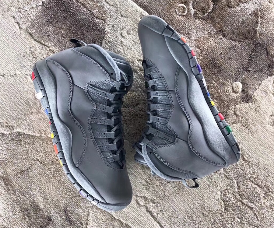"Air Jordan 10 ""Cool Grey"" Color  Cool Grey White Style Code  310805-022. Release  Date  January 27 51616cdd0"