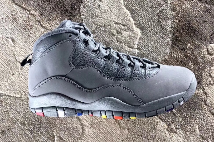 """3a503898582f Air Jordan 10 """"Cool Grey"""" Color  Cool Grey White Style Code  310805-022.  Release Date  January 27"""