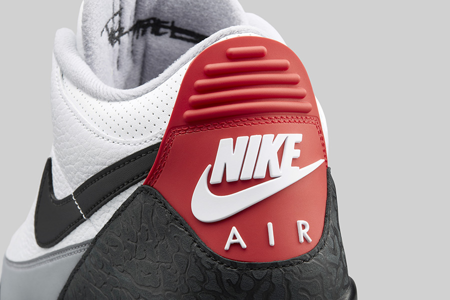 Air Jordan 3 Tinker NRG Color  White Fire Red Cement Grey-Black Style Code   AQ3835-160. Release Date  March 24 fb7a5615f