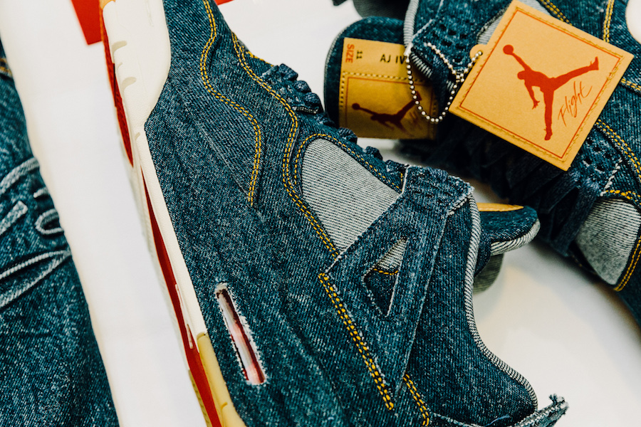 e3b7be77628 Retailers to Carry Both the Air Jordan 4 and Trucker Jacket to Release At