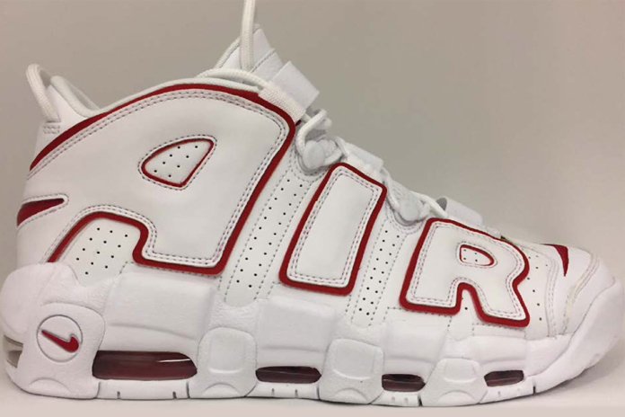 Nike Air More Uptempo White Varsity Red Release Date b804e2b34