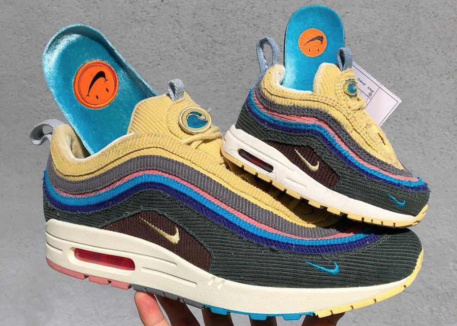 51a043556334f Sean Wotherspoon s Nike Air Max 1 97 is set to be widely available in Men s  sizes and toddler sizes around the celebration of Air Max Day for 2018.