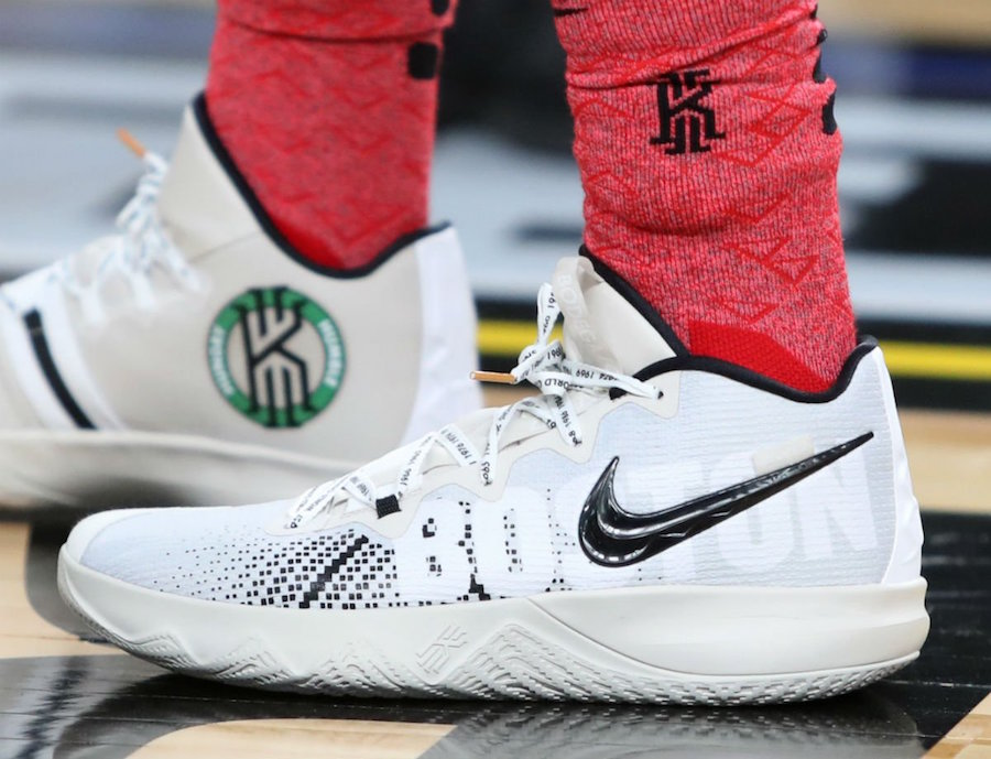 Kyrie Irving Debuts Signature