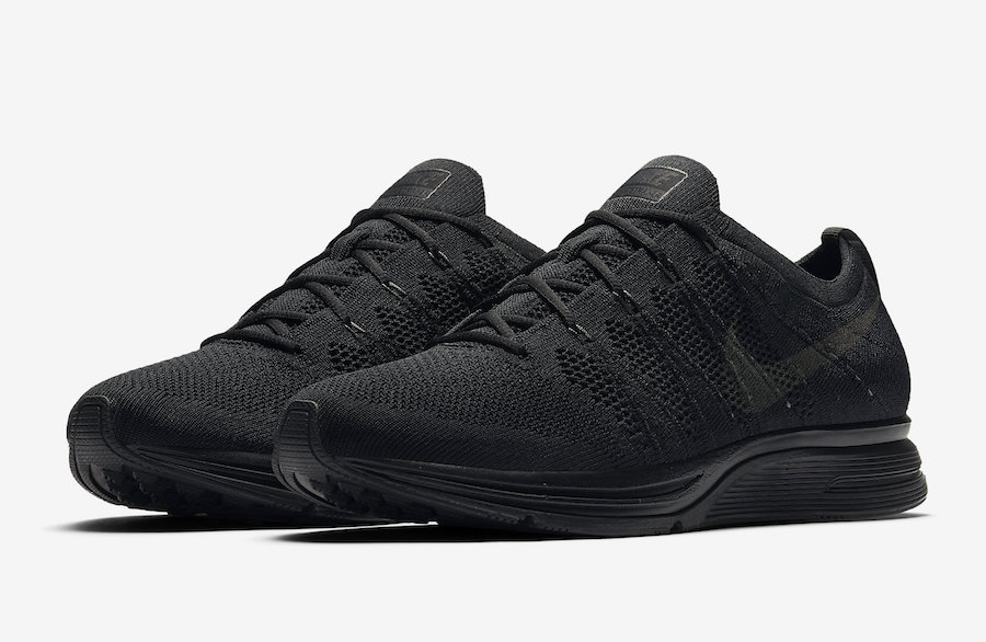 Nike Flyknit Trainer Color: Black/Anthracite-Black Style Code: AH8396-004.  Release Date: Spring 2018. Price: $150