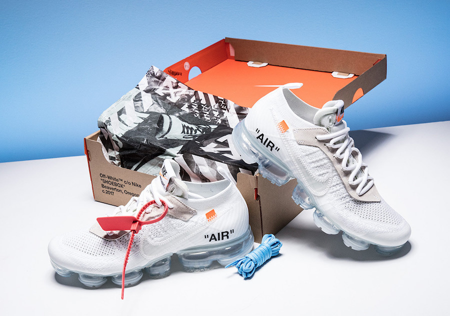 seriamente Pertenecer a Hostal  Off-White x Nike Air VaporMax in White