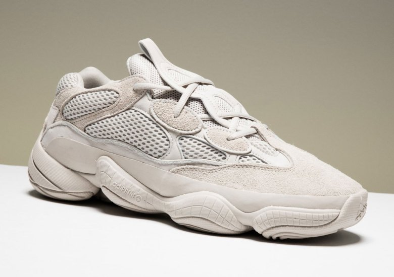 "eacd047525728 adidas and Kanye West s YEEZY brand plan to roll out the adidas Yeezy 500  ""Blush"" for the upcoming All Star Weekend in L.A. Not only will they  release at ..."