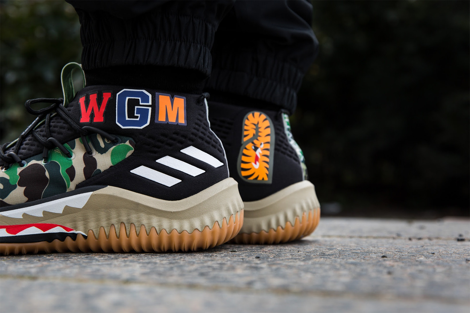 adidas dame 4 on court