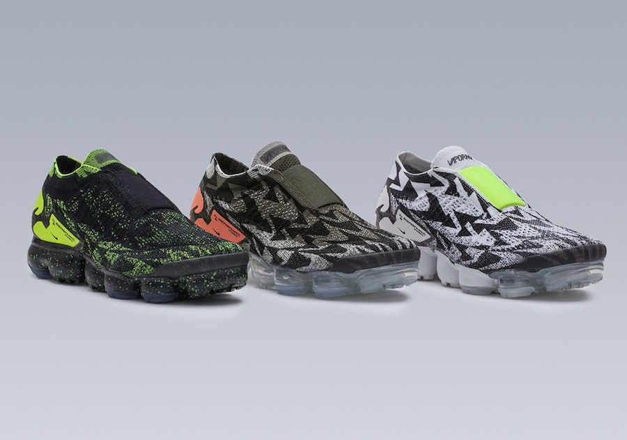 Nike and John Mayer take it to instagram to unveil the Acronym x Nike Air  VaporMax Moc 2 Pack that consists of three total color ways. 861caba54f1f