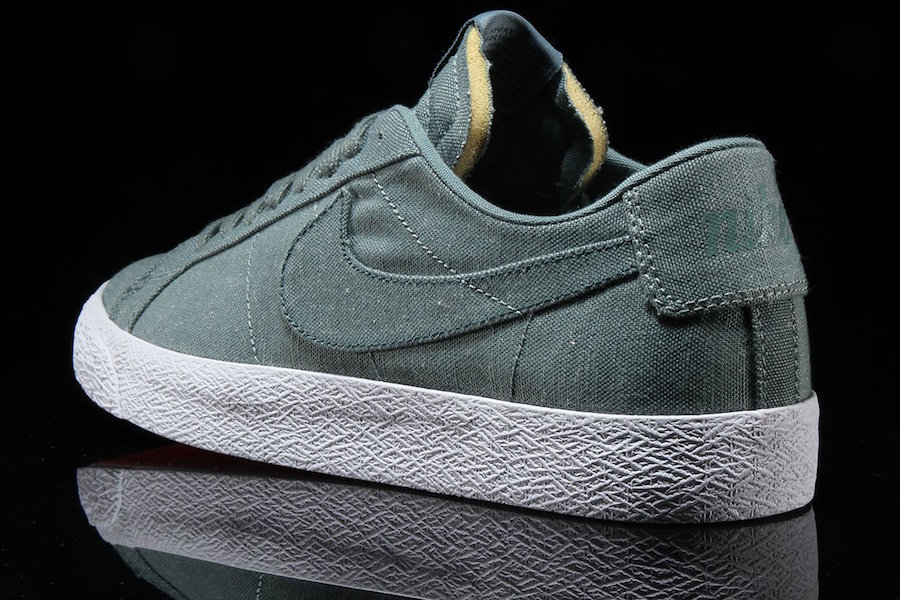 hot sale online b99b5 e4a0b ... uk nike sb blazer low canvas deconstructed color black anthracite style  code ah3370 001. price