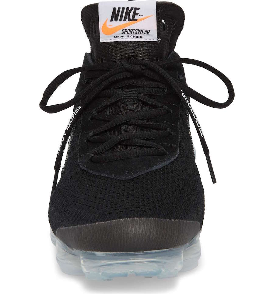 0215417913e3 ... A release date is set for March 30th. Off-White x Nike Air VaporMax.  Color  Black Total Crimson-Clear Style Code  AA3831-002