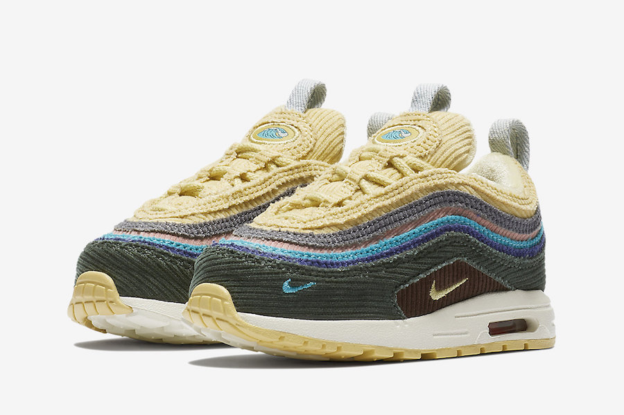 SW x Nike Air Max 1/97 Toddler Size