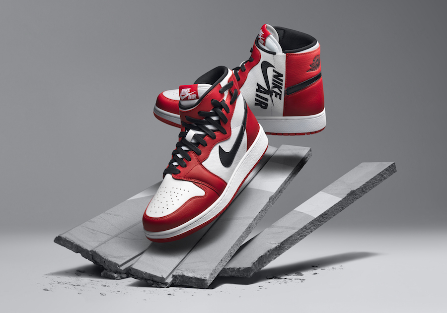 "Air Jordan 1 Rebel ""Chicago"" Color  White Varsity Red-Black Style Code   AT4151-100. Release Date  May 19 f346af9b72"