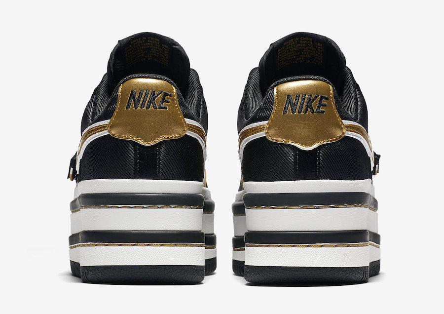 "1dec59daa1ccea Nike Vandal 2K ""Black Metallic Gold"" Color  Black Metallic Gold Style Code   AO2868-002. Release Date  May 5"