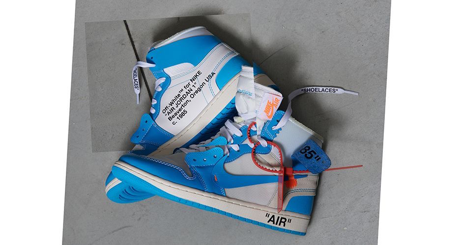 "wholesale dealer d8a5d 2abe0 Jordan Brand will be collaborating with Off White once again on a University  Blue Air Jordan 1. The follow up comes after the recent ""TEN"" release which  ..."