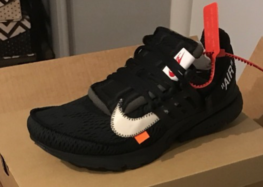 low priced 60644 3ee3c Off-White x Nike Presto Color  White Black-Cone Style Code  AA3830-100.  Release Date  June 2018. Price   160