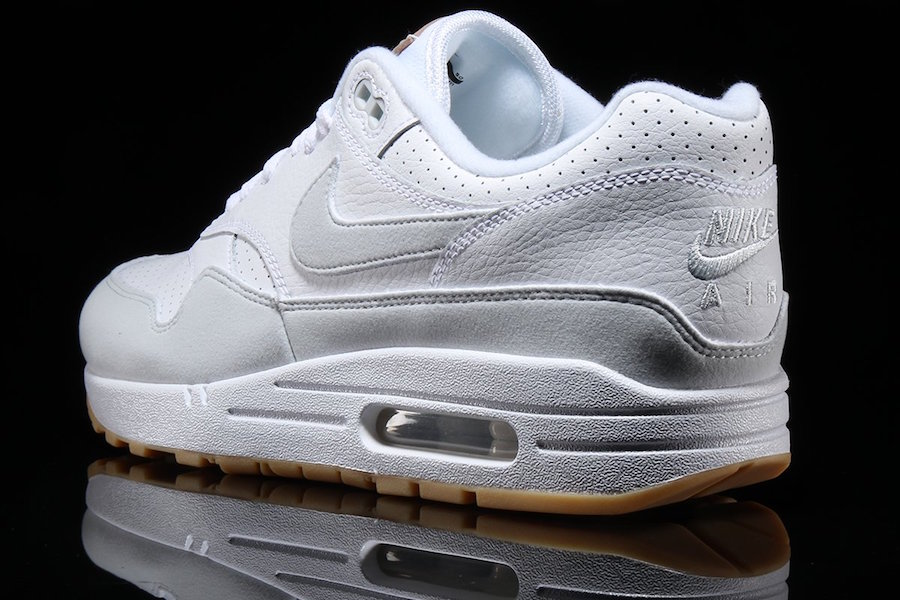 factory authentic e5ec2 557f0 Nike Air Max 1. Color WhitePure Platinum Style Code AH8145-103. Price  120