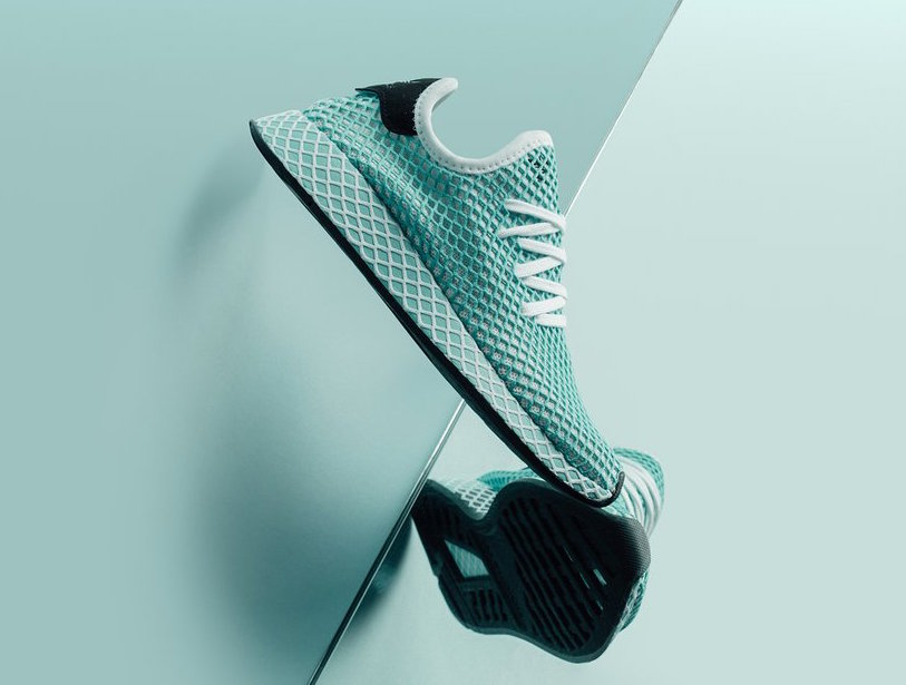 newest 3ce76 53391 Parley x adidas Deerupt Color BlueFtwr White-Blue Spirit Style Code  CQ2908 Price 130