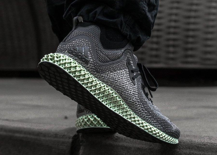 sports shoes 0475f abf2a adidas AlphaEdge 4D LTD Color Core BlackGrey Aero-Ash Green Style Code  AC8485 Release Date June 1, 2018. Price 300