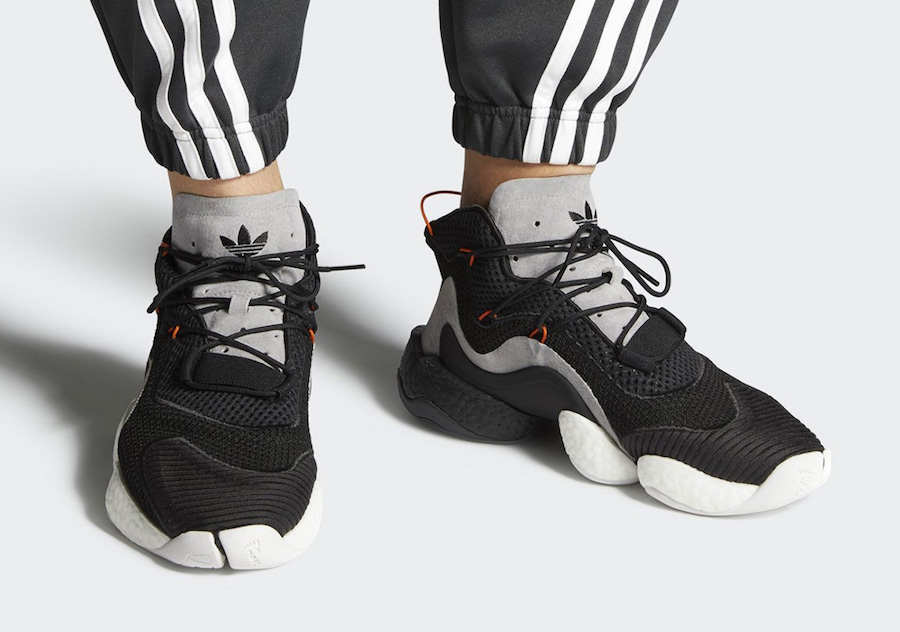 """best service 3c586 30890 adidas sets to expand the Crazy BYW Boost lineup for 2018 with a brand new  """"Carbon"""" color way this month."""