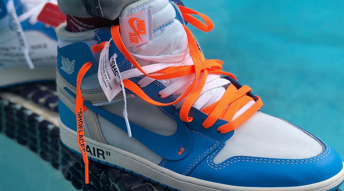 wholesale dealer 18f51 8d31d While the world awaits for the Air Jordan 1 UNC to release, Nike SNKRS app  released the coveted AJ1 earlier today. The Air Jordan 1 was dropped  through the ...