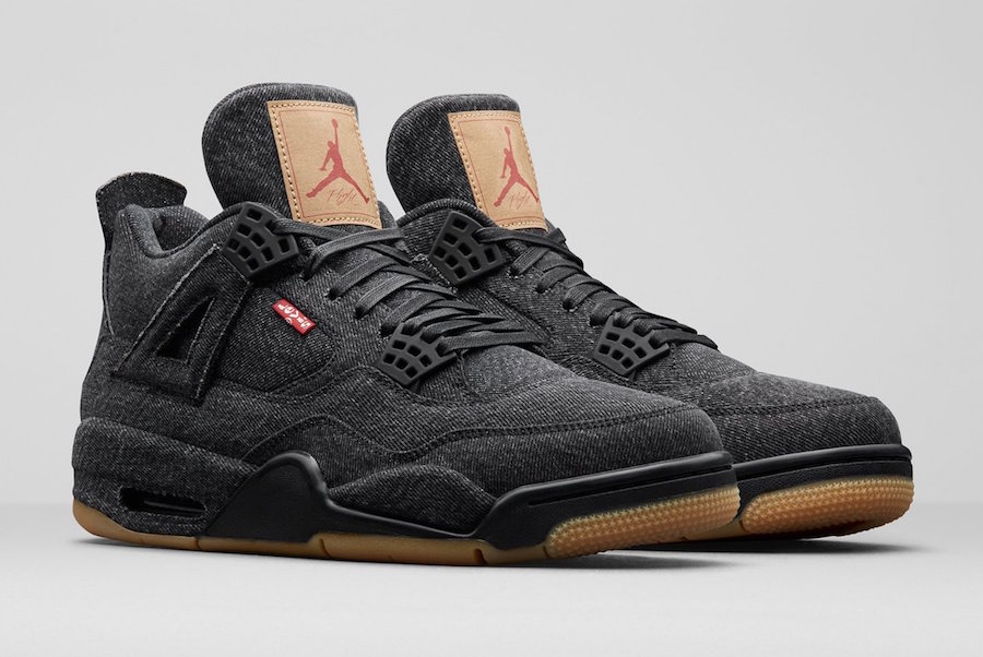 "Jordan Brand and jeans company Levis will be releasing a ""Black Denim"" Air  Jordan 4 this Summer. The Air Jordan 4 will feature a full Black denim  upper da752c1e8a"
