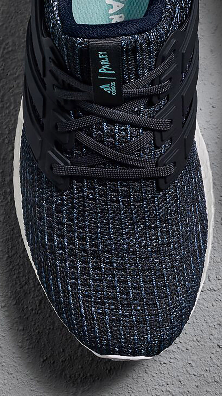 7339f7322754 ... coupon for parley x adidas ultra boost deep ocean blue womens color  legend ink carbon blue