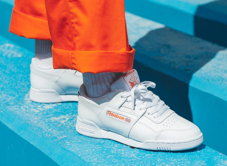 cd229704596 The Reebok Workout Plus MU Bright Lava Orange is now available at select  retailers such as Titolo.