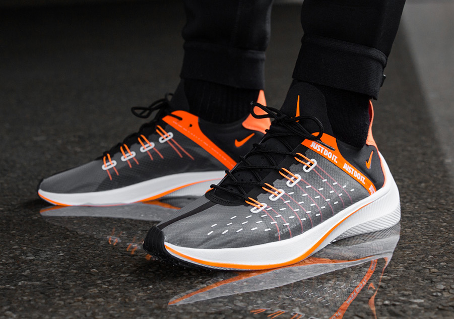 4188ac78a0cf Nike EXP-X14 SE Color  Black Total Orange-White-Cool Grey Style Code   AO3095-001. Release Date  July 6