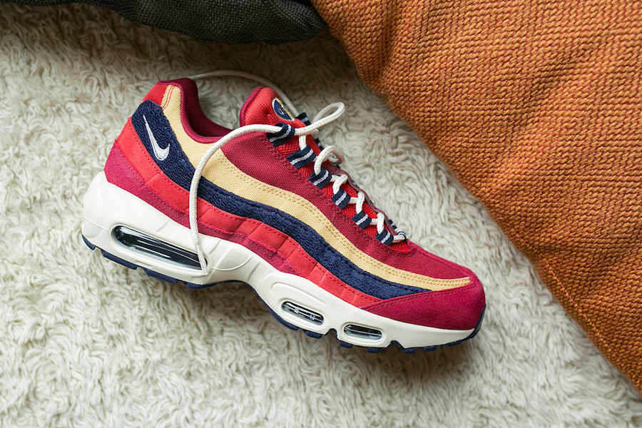 best website 7cb35 85279 ... best price the nike air max 95 premium red crush is now available at  select retailers