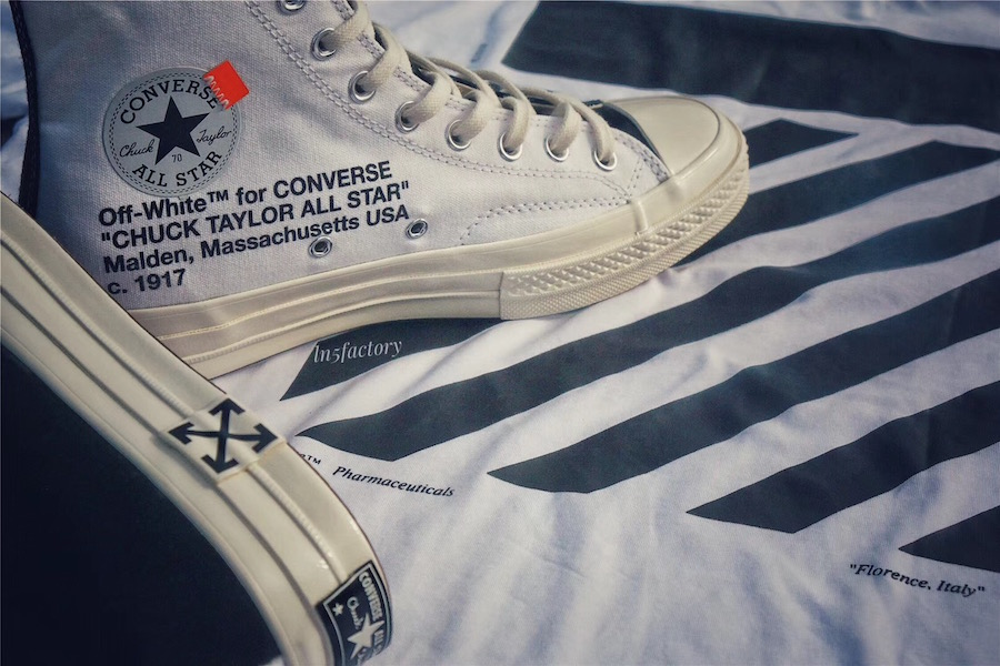 """48c1ab4a948 Off-White x Converse Chuck Taylor """"Polar Opposites"""" Release Date"""