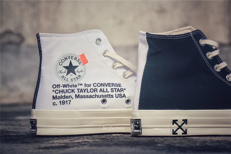 "More Photos of The Off-White x Converse Chuck Taylor ""Polar Opposites"" 03ce3df48"