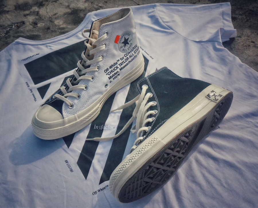 Off White X Converse Chuck Taylor Part 2 Debut