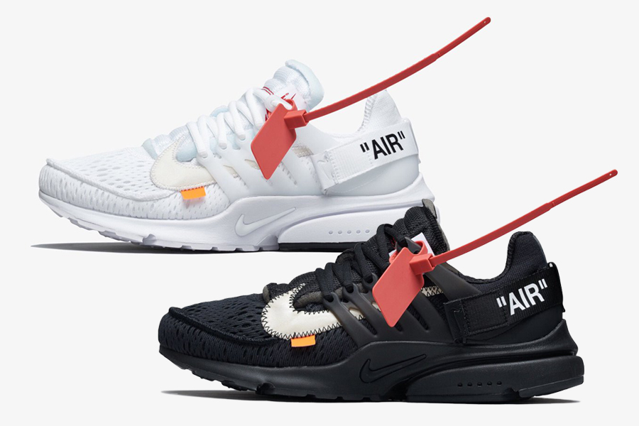 91fccce8636d The Off-White x Nike Presto in Black and in White are set to release this  year.