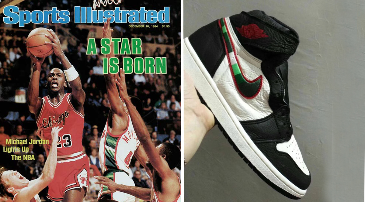 Jordan Brand is set to release an Air Jordan 1 High colorway inspired by the  Sports Illustrated covers featuring Michael Jordan. 726f849c1