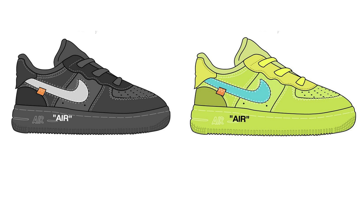 Air Force 1 to Release in Toddler Sizes