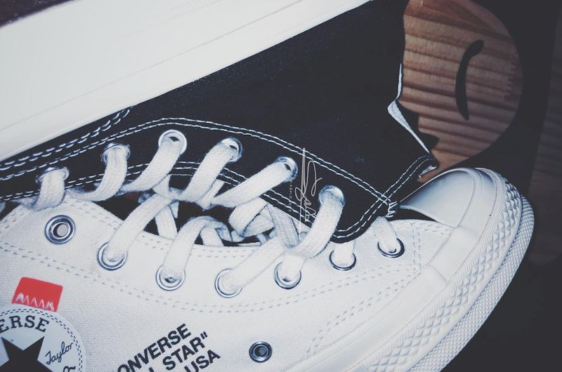 561f68a567bf6c ... in collaboration with Converse following the translucent pair that  released a few months back. Seen here is a new iteration that features a  Cream Black ...
