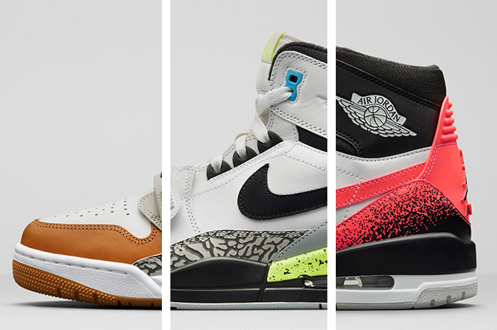 """quality design 38182 8ef71 Debuted during Don C s Jordan Legacy 312 event in Chicago where he released  the """"Storm Blue"""" and """"Ghost Green"""" color options, the """"Nike Pack"""" takes the  ..."""