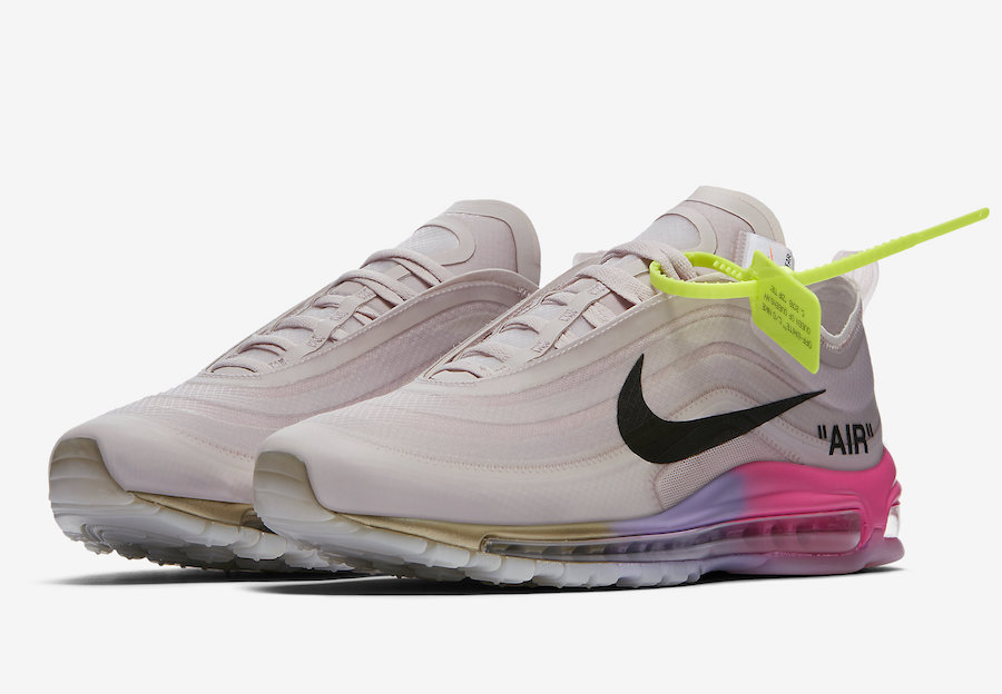 air max 97 x off white black release date