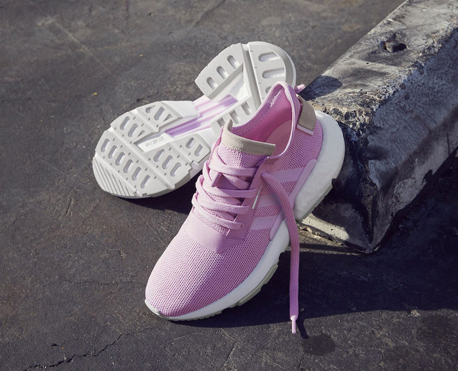 adidas POD S3.1 in Clear Lilac and Grey