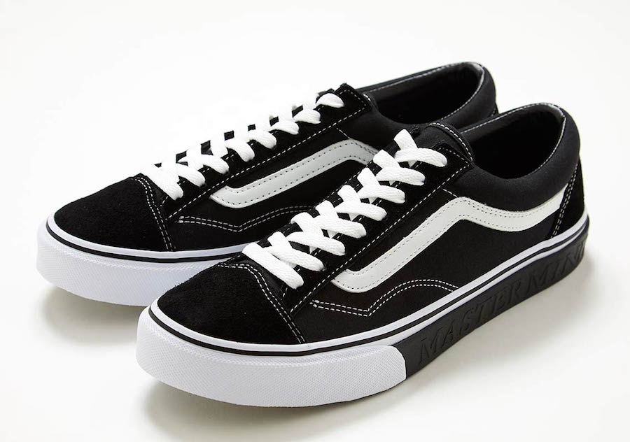 42023fd6f726bc Japan s mastermind teams up with Vans on the classic Vans Style 36  silhouette in a subtle and clean collaboration.