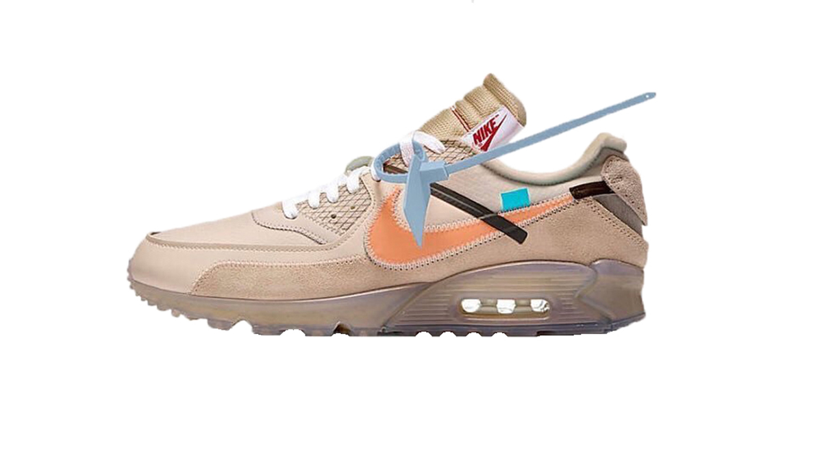 nike air max 90 desert ore off white